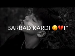 """Read more about the article BARBAD KARDI 😖💔!""""   SAD SHAYARI COLLEGE   LOVE POETRY BROKEN LINE'S"""