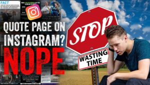 Read more about the article DO NOT START A QUOTE PAGE ON INSTAGRAM IN 2020 [Here's Why]