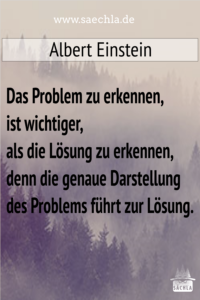 Read more about the article Das Problem erkennen