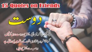 Read more about the article Dosti 15 best Quotes in Hindi Urdu with voice and images    Dost aqwal e zareen