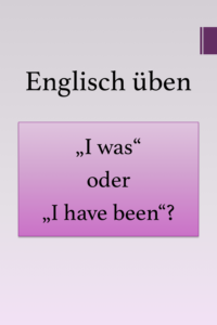 Read more about the article Englisch Übungen