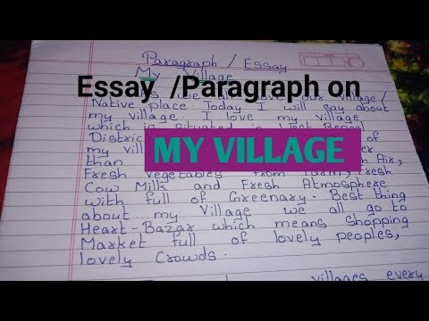 You are currently viewing Essay on My Village // A Paragraph on My Village