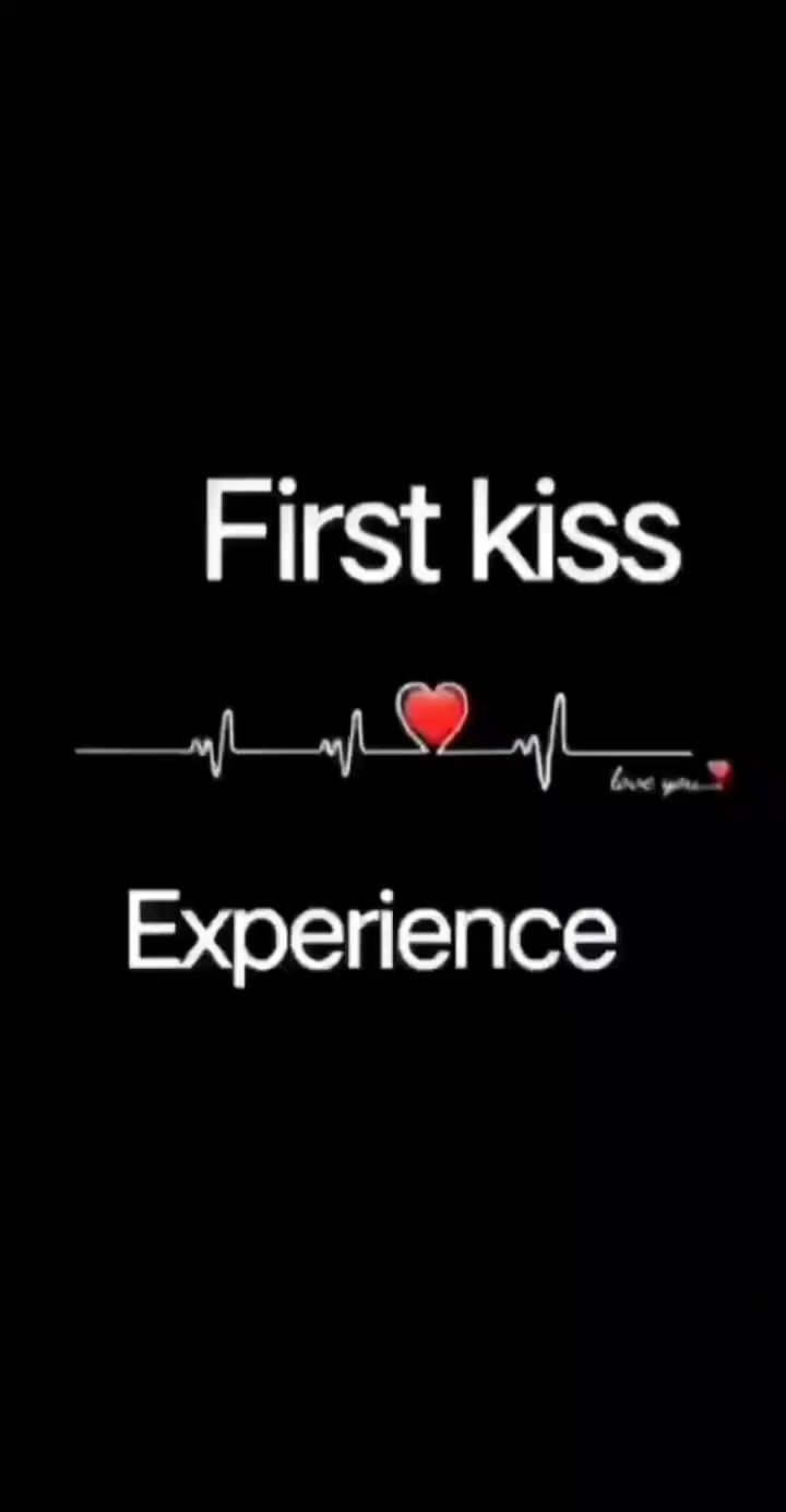 You are currently viewing First kiss..