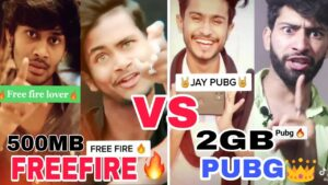 Read more about the article Free fire vs Pubg | funny 😁 | pubg vs freefire |Attitude 👿 | gouravch2 | gouravchaudhary | pglu