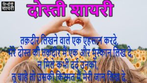 Read more about the article Friendship shayari दोस्ती शायरी