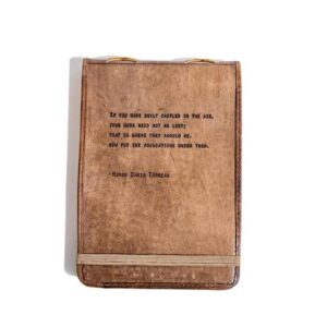 Read more about the article H.D. Thoreau Leather Journal