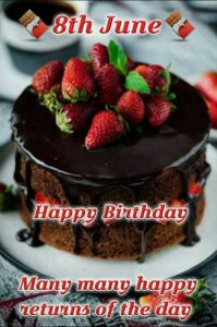Read more about the article #🎂 Happy बर्थडे8th June Happy Birthday Many many happy 🎂 Happy बर्थडे By 🌷🌺SNEHA🌺🌷 on ShareChat – WAStickerApp, Status, Videos and Friends