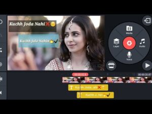 Read more about the article How to Make Trending Shayari WhatsApp status video in kinemaster    Make shayari status video