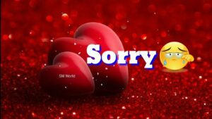 Read more about the article I'm Sorry Whatsapp Status Video For Love  Best Sorry Status   Love video   New romantic Sorry status