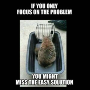 Read more about the article If you only focus on the problem