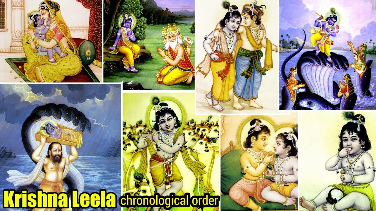 You are currently viewing Krishna Leela Paintings