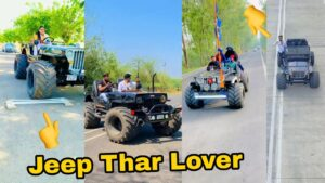 Read more about the article Mahindra thar & jeep Lover Boys Attitude status   modified jeep thar