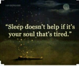 Read more about the article No amount of rest can fix a broken soul