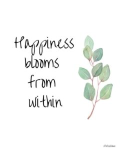 Read more about the article PRINTABLE Wall Decor  Happiness blooms from | Etsy