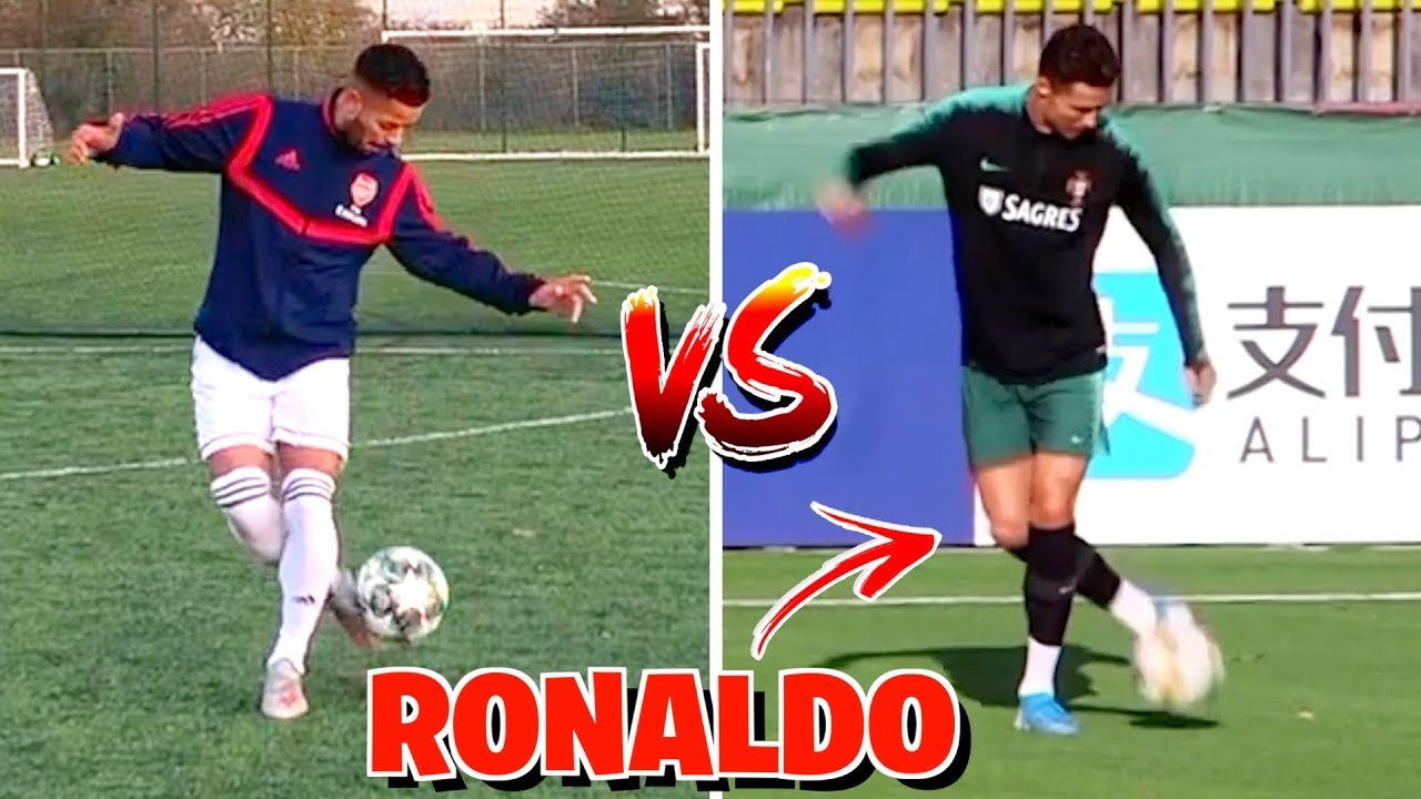 You are currently viewing RECREATING INSANE VIRAL FOOTBALL MOMENTS! ⚽️🔥