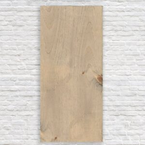 Rectangle Blank Slate – CNC Text Engraving – 24×11.25 / Weathered Oak / Vertical