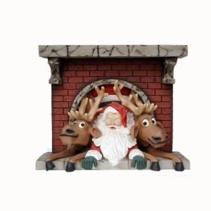 Read more about the article SANTA & FUNNY REINDEER COMING OUT ON CHIMNEY JR GD