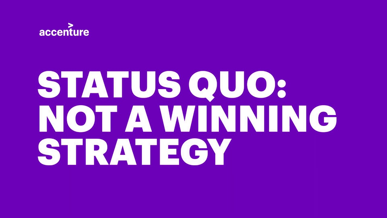 You are currently viewing Status Quo: Not a winning strategy for government leaders