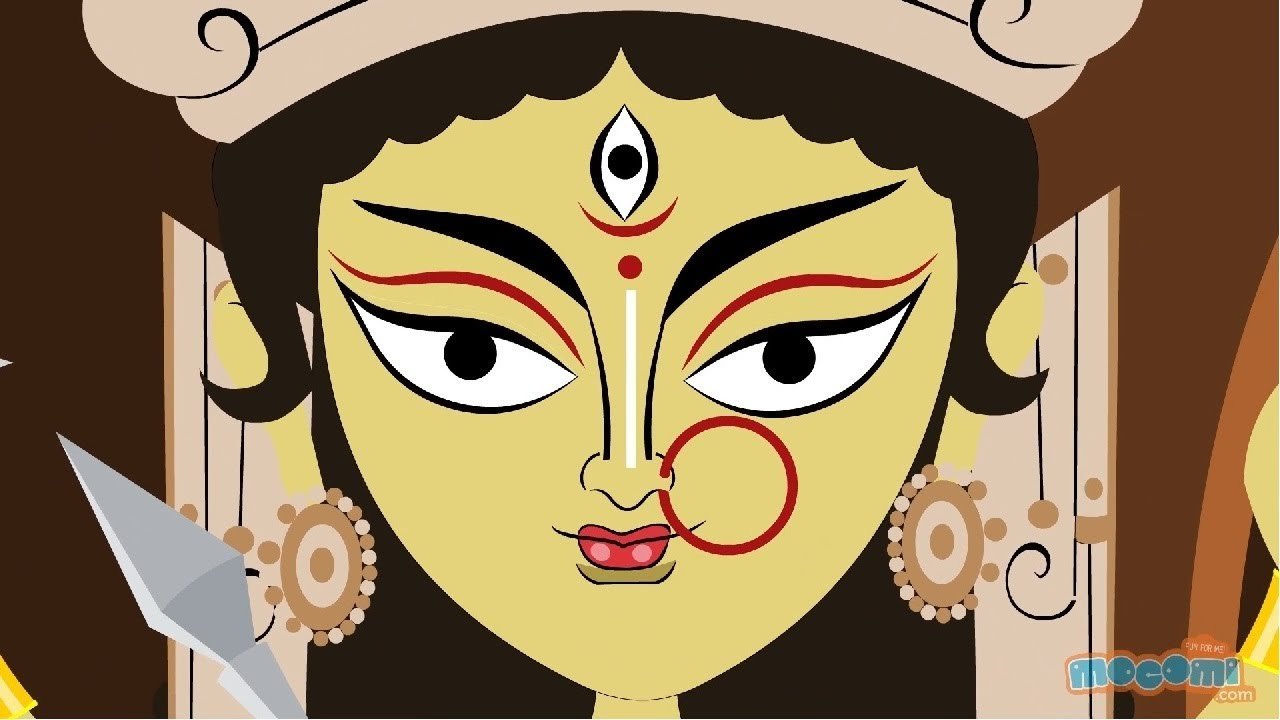 You are currently viewing The Story of Goddess Durga in English   Mythological Stories from Mocomi Kids