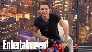 Read more about the article Tom Holland Reacts To Chris Hemsworth's Viral 'Avengers' Video | Cover Shoot | Entertainment Weekly