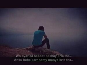 Read more about the article Two Line Sad Heart Touching Poetry|DHS humza |Urdu_Hindi Shyari|  poetry|Sad Poetry-