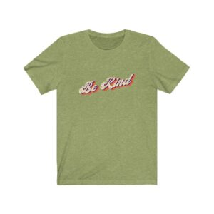 Read more about the article Vintage Style Be Kind Tee – Heather Green / 3XL