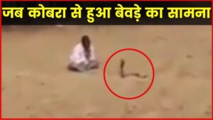 Read more about the article Viral Funny Video: Drunk Person Encounter With Cobra, जब कोबरा से हुआ बेवड़ा का सामना