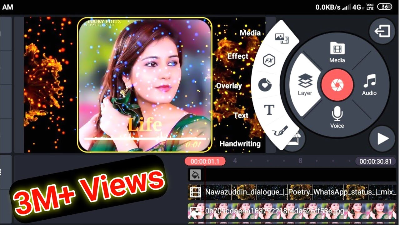 You are currently viewing Whatsapp Status Video kaise banaye   Kinemaster Tutorial Step by Step  (Part-33)   