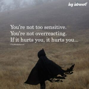 Read more about the article You're Not Too Sensitive