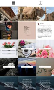 Read more about the article i'm in love with my (quotes & doa) instagram feed!! semoga amira natasha dapat m