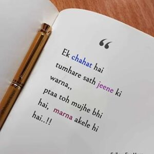 """Read more about the article shayari.love on Instagram: """"Follow me if you like my post😍
