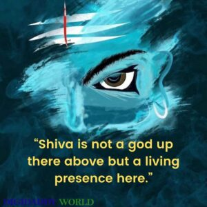 Read more about the article 70 Mahadev – Lord Shiva Quotes & Captions In English