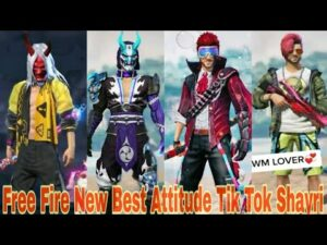 Read more about the article 🔥Free Fire New Best Attitude Indian most popular Tik Tok Shayri  Mr Abhi and Ansh Pandit Funny  