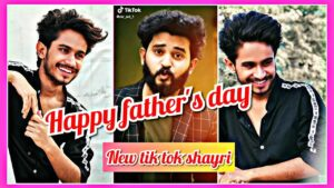 Read more about the article Happy father's day tik tok shayri video | ansh pandit and mr  avi shayri video | tik tok shayri