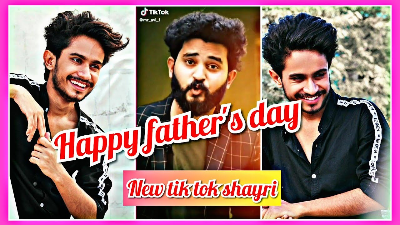 You are currently viewing Happy father's day tik tok shayri video   ansh pandit and mr  avi shayri video   tik tok shayri