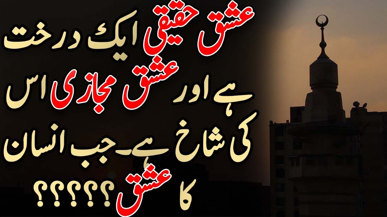 Ishq e Haqeeqi in Urdu   Quotes about True Love   True Love Quotes   Best Islamic Quotes Urdu