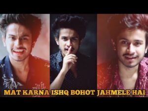 Read more about the article Mat Karna Ishq Bohot Jahmele Hai By Ansh Pandit | Ansh Pandit Motivation Poetry | Mention Your Crush