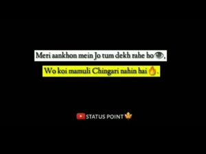 """Read more about the article """"mohalle mein dikhna mat beta/tik tok status for whatsapp/english shayari/english status for whatsap"""