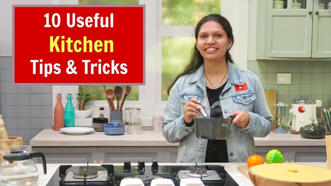 You are currently viewing किचन के उपयोगी टिप्स   10 Useful Kitchen Tips and Tricks in Hindi   Kabitaskitchen