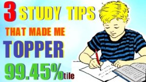Read more about the article 3 SECRET STUDY TIPS TO SCORE HIGHEST IN EXAMS MOTIVATIONAL (HINDI)| HOW I BECAME TOPPER