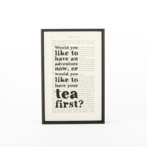 """Read more about the article """"Adventure or Tea…"""" Peter Pan Print"""