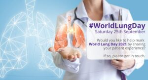 Read more about the article Ahead of #WorldLungDay in a few weeks' time, do you have a story you could share