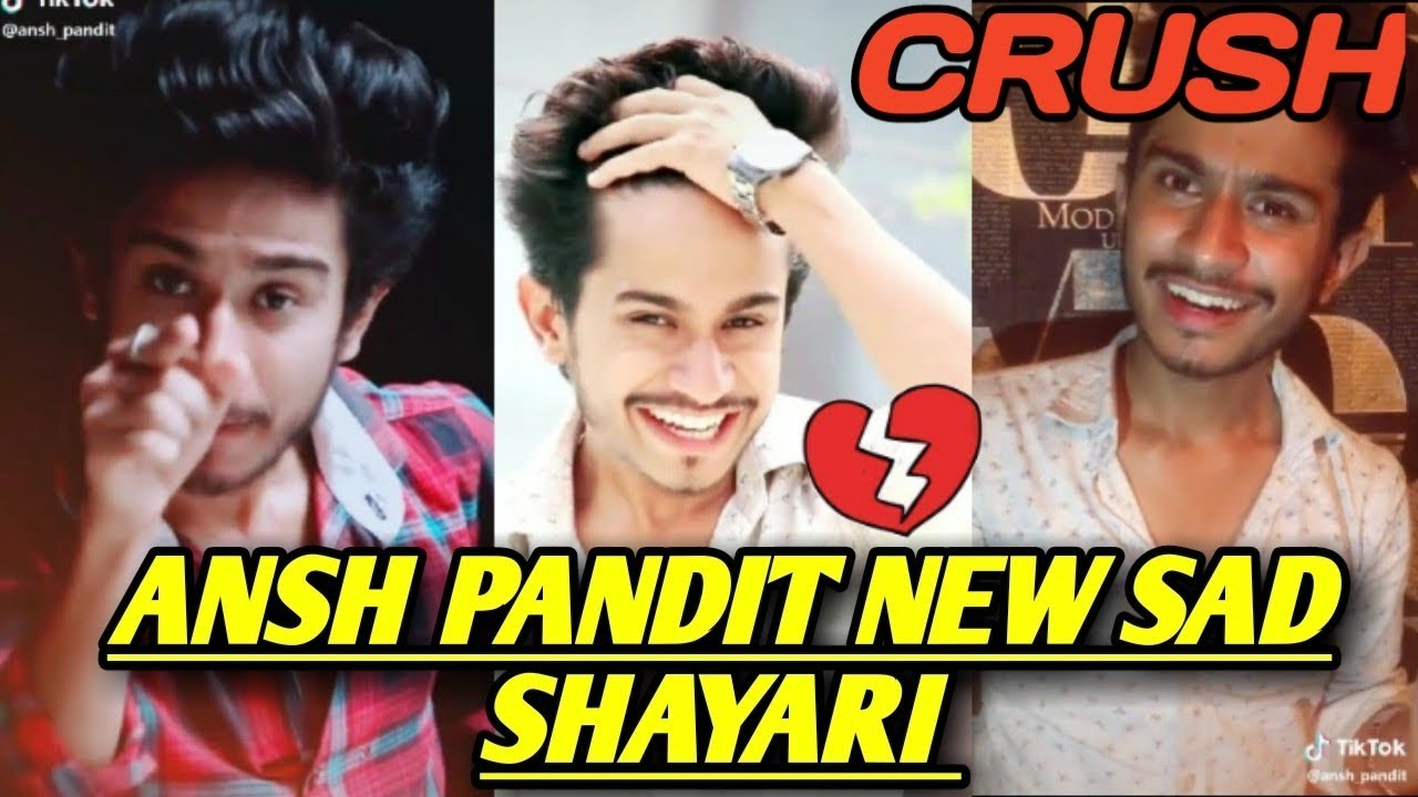 You are currently viewing Ansh pandit tiktok shayari   Ansh pandit new sad shayari   crush shayari