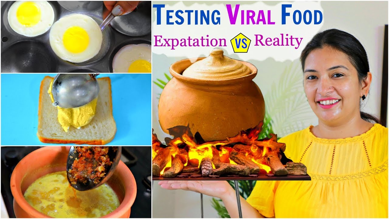You are currently viewing Cooking and Testing VIRAL Food – HIT or MISS..  CookWithNisha