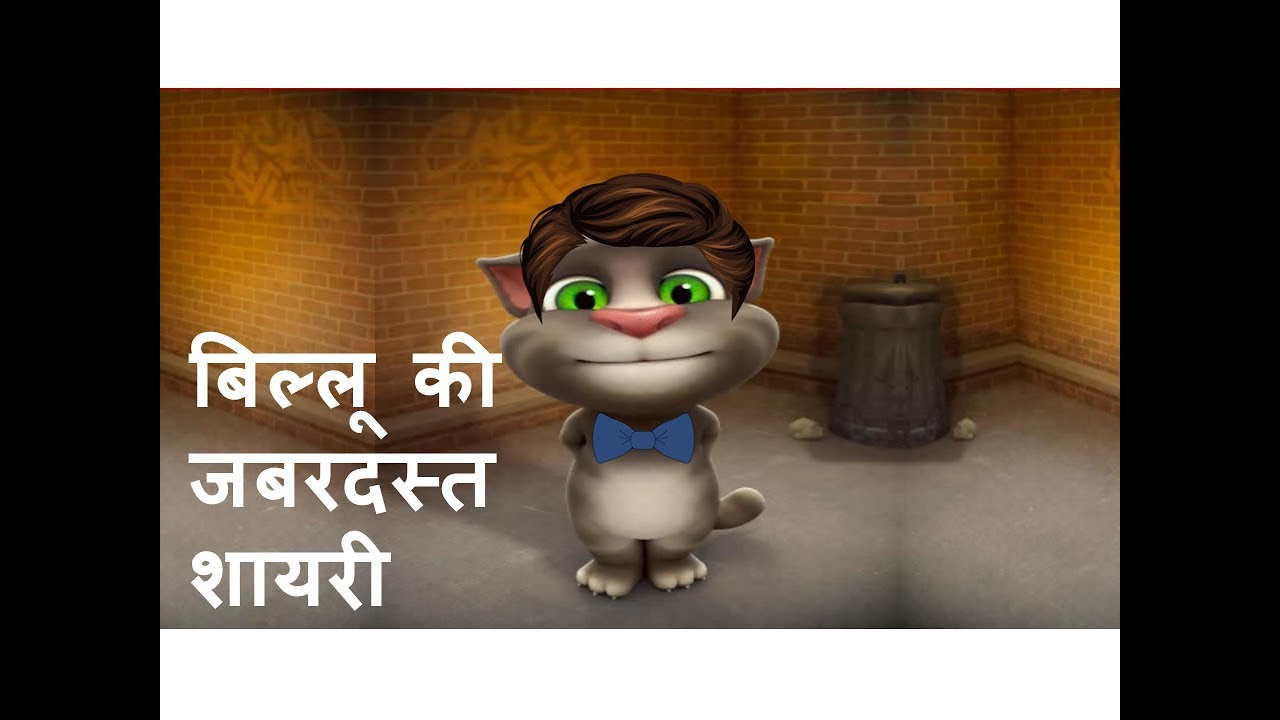 You are currently viewing Funny Shayari By Talking Tom || बिल्लू की जबरदस्त शायरी