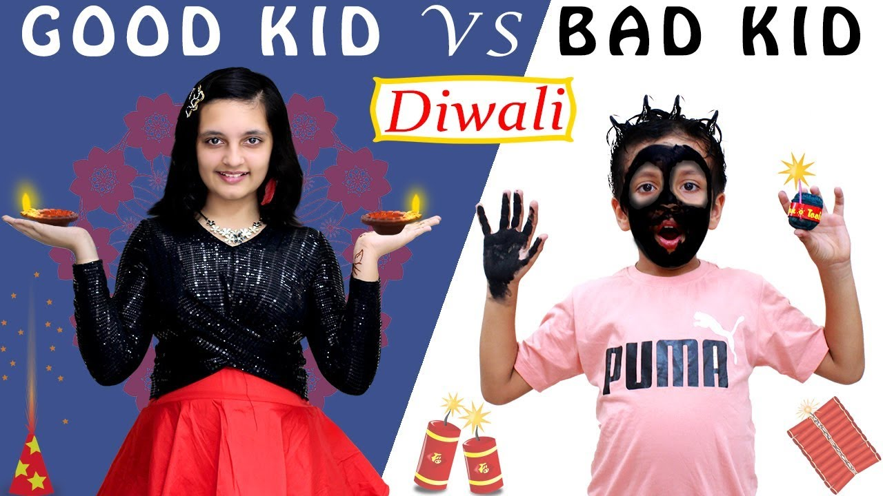 You are currently viewing GOOD KIDS vs BAD KIDS Diwali special #Funny Types of Kids on Diwali | Aayu and Pihu Show