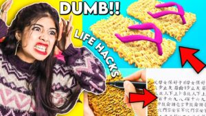 Read more about the article I Tested Viral 5 minute Crafts Hacks to see if they work? *Epic Fail*😏