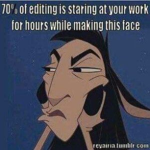 """Read more about the article """"I actually enjoy chopping up the first draft of my novel into pieces. It doesn't make me anxious at all."""""""