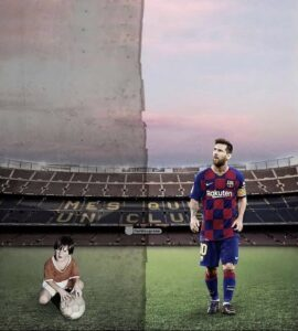 Read more about the article Joined as a boy, leaving as the world's best player. A love story for the books.