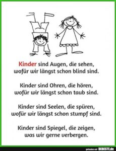 Read more about the article Kinder sind….